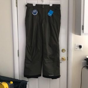Men's Columbia snow pants